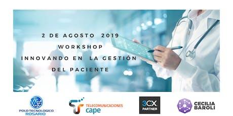 """Workshop """"Innovando en la gestión del paciente"""" entradas"""