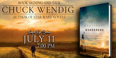 Chuck Wendig talk and signing for Wanderers