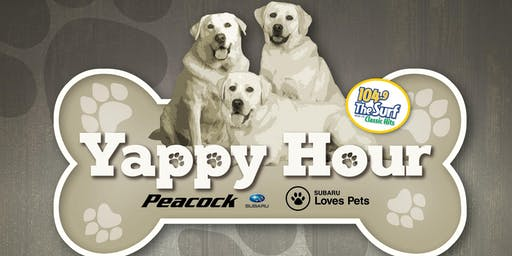 July Yappy Hour/Clear The Shelters