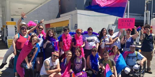 Generations of Resistance to Bi+ Erasure - 2019 SF Pride March