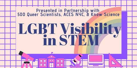 LGBT+ Visibility in STEM tickets