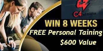 Win 8 Weeks Free Personal Training