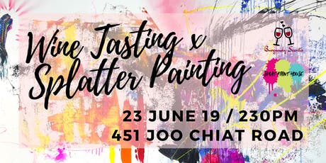 Beaujolais Crus Wine Tasting x Splatter Paint - It's gonna get funky! tickets