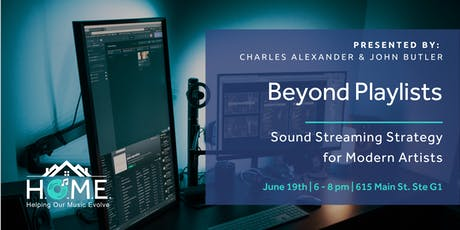 Beyond Playlists: Sound Streaming Strategy for Modern Artists tickets
