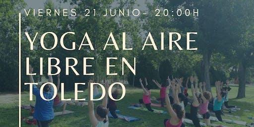Yoga al Aire libre en Toledo