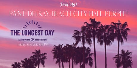 Paint Delray Beach City Hall Purple tickets