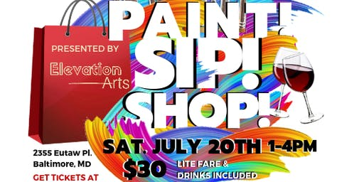 Paint, Sip & Shop presented by Elevation Arts