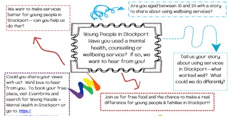 Young People & Mental Health in Stockport tickets
