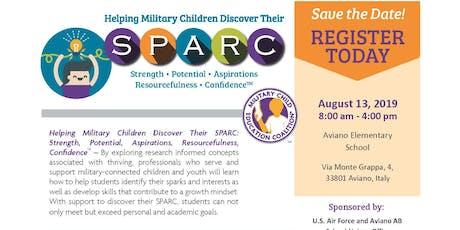 Helping Military Children Discover their SPARC  biglietti
