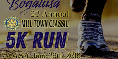 Fireman's Federal Credit Union-Bogalusa Rotary 5K Run/Walk tickets