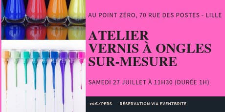 Atelier Vernis à ongles tickets