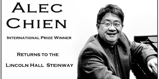 Alec Chien, Pianist - International Prize Winner