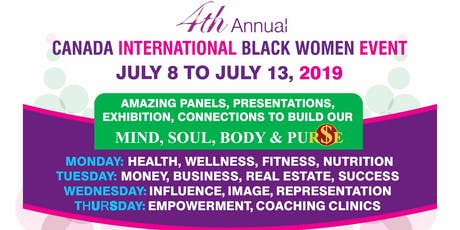 #CIBWE19- Day 1: Health, Wellness, Nutrition, Fitness tickets