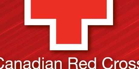 Red Cross FIRST AID And CPR Classes tickets