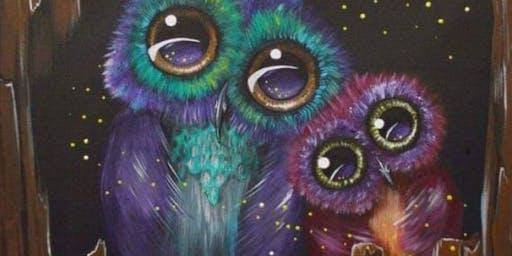 Paint & Sip, Owls
