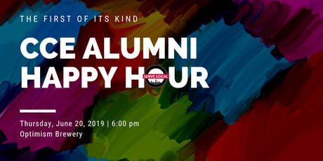 CCE Alumni Happy Hour tickets