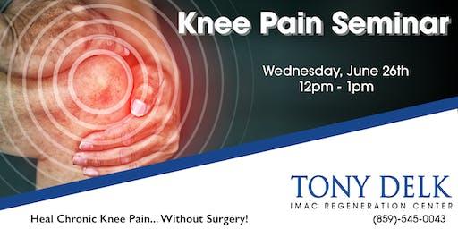 Tony Delk Center Stem Cell Seminar - 6/26