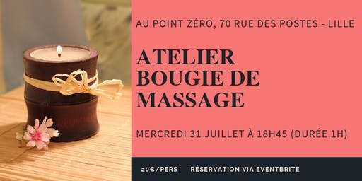 Atelier Bougie de massage