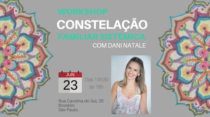Workshop de Constelação Familiar Sistêmica ingressos