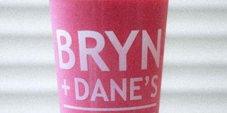 Free Journey From Bryn +Dane's  on National Smoothie Day tickets