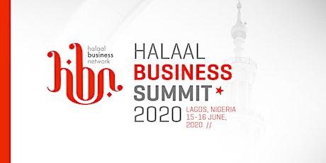 HBN.Halaal Business Summit 2020 tickets