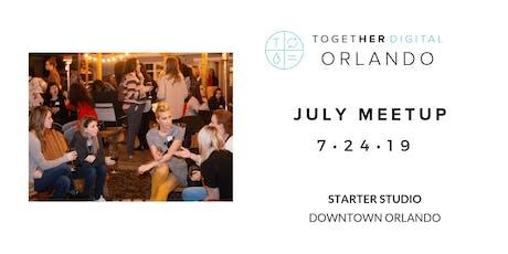Together Digital Orlando July Member Meetup: Peer Power! tickets