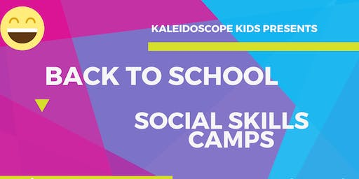 Back to school social skills camp