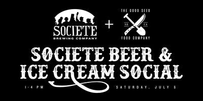 Societe Beer & Ice Cream Social