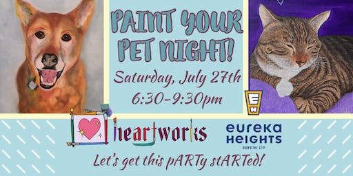 Paint your Pet @ Eureka Heights!