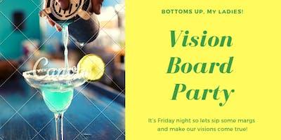 Vision Board Fun W/ a Splash if Margaritas
