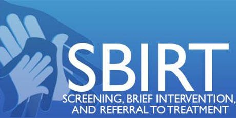 Screening, Brief Intervention & Referral to Treatment in-depth tickets