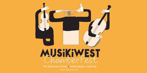 Musikiwest ChamberFest Workshop Package