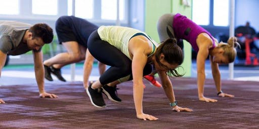 Urban Living Programme: Burpees and Bubbles Bootcamp