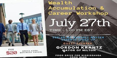 CNP Presents: Wealth Accumulation & Career Workshop tickets