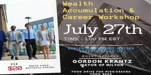 CNP Presents: Wealth Accumulation & Career Workshop