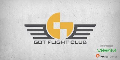 July GDT Flight Club tickets