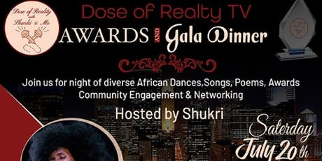 Dose of Reality TV  Gala - A Night of diverse cultural performances tickets