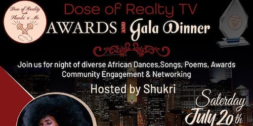 Dose of Reality TV  Gala - A Night of diverse cultural performances