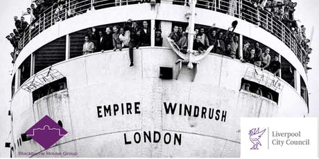 WINDRUSH TO LIVERPOOL 2019 - free community event funded by LCC City Fund tickets
