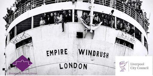 WINDRUSH TO LIVERPOOL 2019 - free community event funded by LCC City Fund