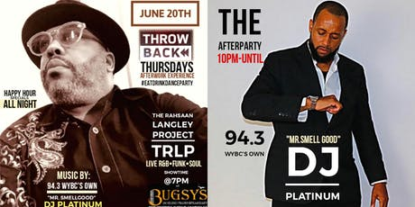 T.R.L.P LIVE @ Bugsy's Thowback Thursday  tickets
