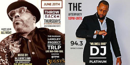 T.R.L.P LIVE @ Bugsy's Thowback Thursday