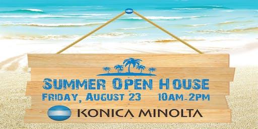 Konica Minolta Summer Open House