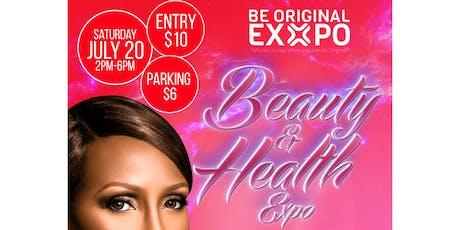 #BeautyAndHealthExpo tickets