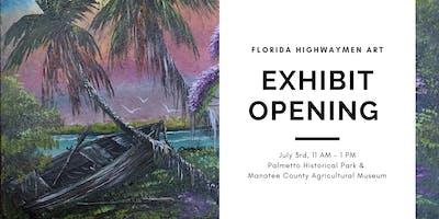 Florida Highwaymen Art Exhibit Opening Reception
