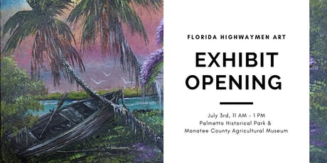 Florida Highwaymen Art Exhibit Opening Reception  tickets