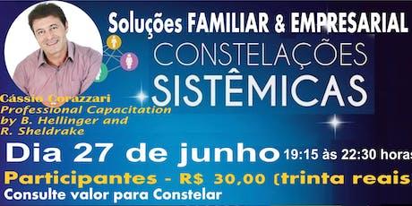 A Expansão da Consciência: Constelação Sistêmica Familiar & Empresarial ingressos