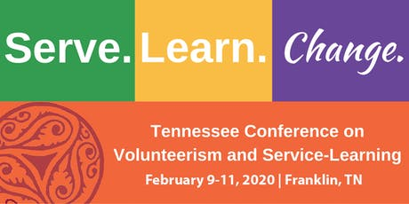 2020 Tennessee Conference on Volunteerism and Service-Learning tickets