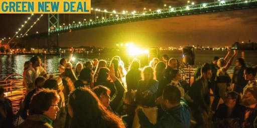 Michigan Needs A Green New Deal- House Music Boat Rave Party