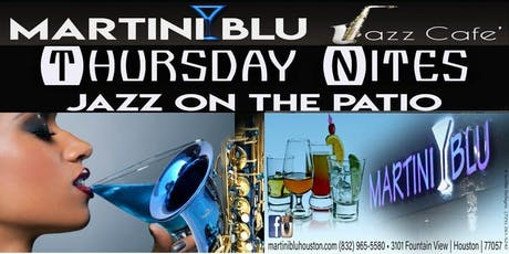 Martini Blu Jazz Cafe: Jazz & Poetry on the Patio FREE ENTRY / FREE PARKING tickets